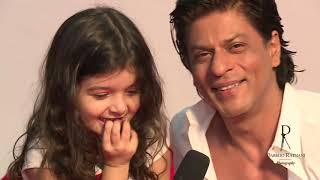Really Cute!!! Do Watch This Video Featuring @iamsrk & @MyrahRatnani Chatting in