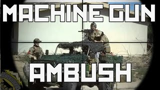 Milsim West The Kazakh Offensive Part 2: Machine Gun Ambush (Echo 1 Red Star Covert)