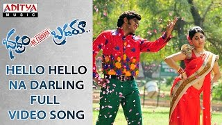 Hello Hello Na Darling  Full Video Song | Bhadram Be Careful Brotheru | Sampoornesh Babu,Charan Tez