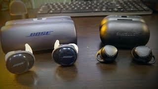 Samsung I-Con X vs Bose SoundSport Free  Wireless Earbuds Tournament
