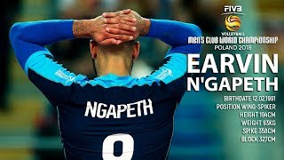 TOP 10 Crazy Actions By Earvin Ngapeth | FIVB Club World Championship 2018
