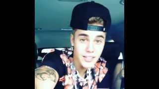 Justin's instagram video -