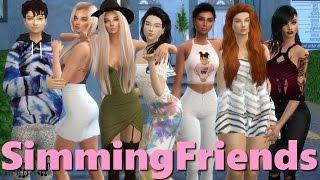SimmingFriends l episode 1l A Sims 4 Series (Pilot)