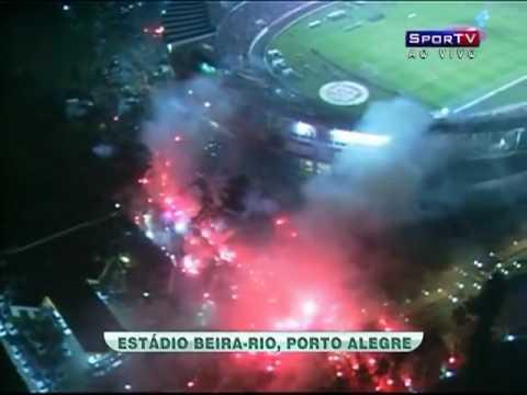 GUARDA POPULAR INTERNACIONAL RUAS DE FOGO ESTÁDIO BEIRA RIO PORTO ALEGRE