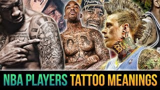 """The Meanings Behind Tattoos Of NBA Players! Kobe, LeBron, Chris """"Birdman"""" Anderson & More"""