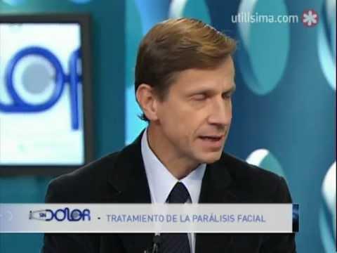 Dr.Andersson Parálisis Facial De Bell 2011 Canal Utilísima Programa SinDolor.