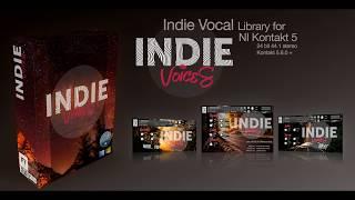 Indie Voices - Splash Sound. Vocal library for Kontakt