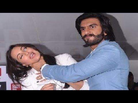 Ranveer Singh & Sonakshi Sinha's FUNNY MOMENTS