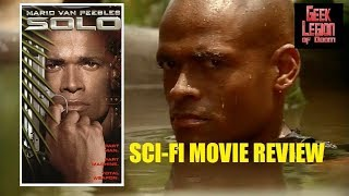 SOLO ( 1996 Mario Van Peebles ) Sci-Fi Cyborg Movie Review