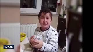 Annesinin doğum günü hediyesini beğenmeyen ufaklığın isyanı