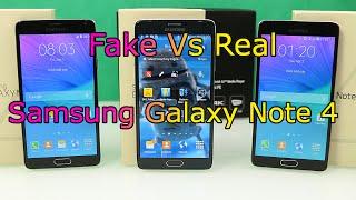 Real vs Fake Samsung Galaxy Note 4 - 1:1 Clone / Replica - Full Review [HD]