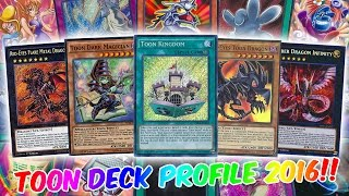 TOON DECK PROFILE + YGOPRO REPLAY - NOVEMBER 2016 - THE TOONS ARRIVE AGAIN!