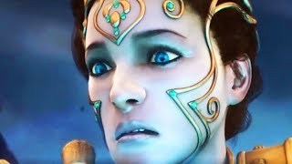 GOD OF WAR All Athena Scenes (God of War Series)