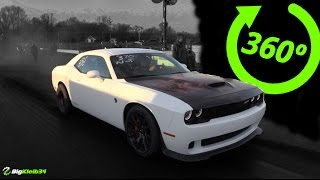 360° Video - On Top of the  Fastest HELLCAT in the World!