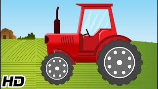 Tractor Videos For Kids To Learn   3D Animation Car Videos   Shemaroo Kids