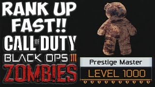 TOP 5 WAYS TO LEVEL UP FAST IN BLACK OPS 3 ZOMBIES! Call of Duty Black Ops 3 Zombies