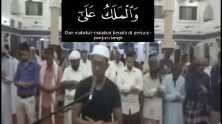 Imam Kaos Hitam Merdu Teks Al-Haqqoh dan Terjemahan