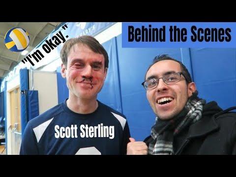 Xxx Mp4 Scott Sterling Volleyball Blocks BEHIND THE SCENES Studio C 3gp Sex
