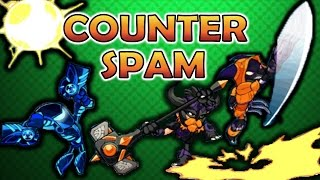 Top 13 Most Spammable Attacks in Brawlhalla and How To Counter Them - Counter Spam