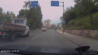 Гигантски слалом по улиците на град Ловеч