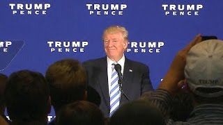 Trump lays out agenda for first 100 days in office