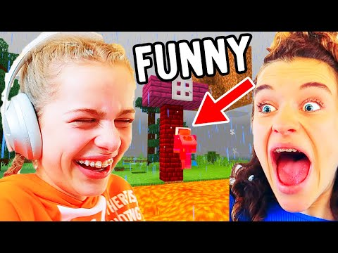 TRY NOT TO LAUGH funny Minecraft Hardcore Gaming w The Norris Nuts