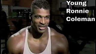Very Young Ronnie Coleman - Rare News Footage