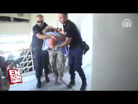 Akın Öztürk ve darbeci generallerin yakalanma anı polis sorgularken