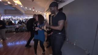 Addie and Josie's Pleasantville NY Salsa Social 1-8-2017