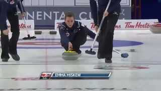 Emma Miskew - WFG Continental Cup of Curling - Hit & Roll