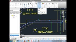 AutoCad Structural Detailing 2015 -Stair