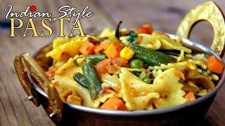 Pasta Recipe Indian Style - Pasta for Kids breakfast/ Snacks | Spicy Pasta Recipe