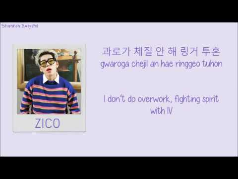 Download ZICO - BERMUDA TRIANGLE (Feat. Crush, DEAN) Color Coded Lyrics [Han/Rom/Eng]