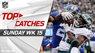 Top Catches from Sunday   NFL Week 15 Highlights