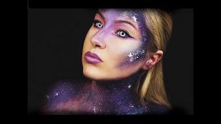 Galaxy Makeup Tutorial | Halloween