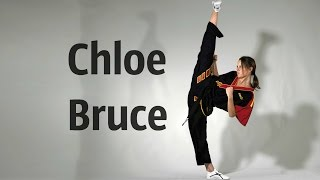 kickboxing ninja girl - Chloe Bruce