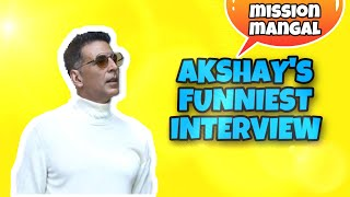 Akshay's FUNNIEST FULL INTERVIEW   Vidya   Taapsee   Nithya   Sonakshi