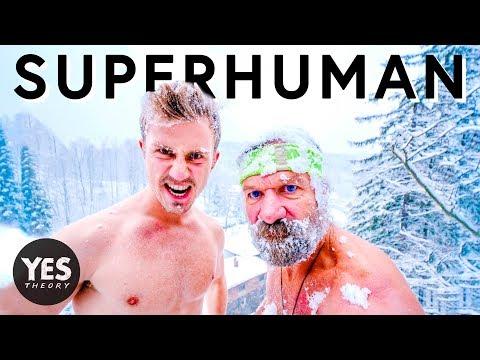 BECOMING SUPERHUMAN WITH ICE MAN Wim Hof