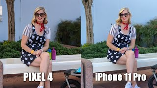 Google Pixel 4 vs iPhone 11 Pro Camera Test Comparison!