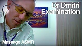 ASMR Dr Dmitri Role Play Face Skin Examination