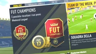 PACK OPENING WEEKEND LEAGUE !!! RISCATTO I MIEI PREMI !! FIFA17  FUT CHAMPIONS