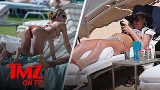 Jessica Alba Shows Off Baby Bump Sunbathing In Hawaii   TMZ TV