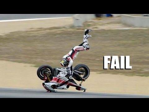 AMAZING FAIL & CRASH COMPILATION OF MOTORCYCLE