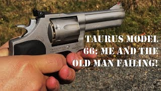 Range Fails: Taurus Model 66, Can't Hit the Barn if I was Standing in it!