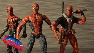 LOZAUS1 STOP MOTION Channel TRAILER featuring SPIDERMAN PART 8 Teaser