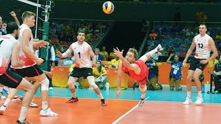 TOP 10 Double Dig   Best Volleyball Actions
