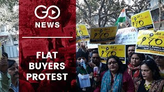 Duped Home Buyers Protest In Delhi