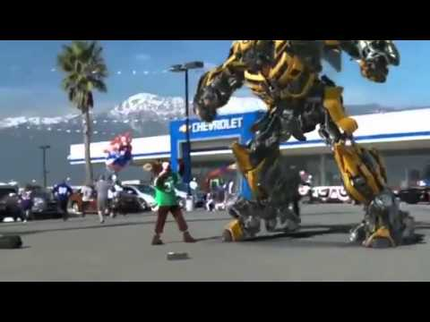 Xxx Mp4 REAL TRANSFORMER BUMBLEBEE ANGRY ROBOT 3gp Sex