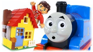LEGO Classic 10703 Creative Builder Box, Build House with Thomas the Train