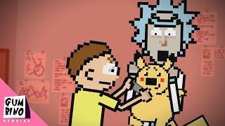 Rick and Morty in Pokemon (parody)